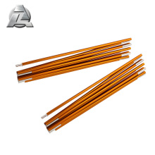 Semi-Permanent collapsible tent stakes pole spares